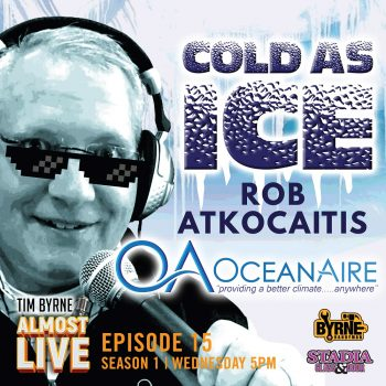 Episode 15 – Cold as Ice with Boston Rob