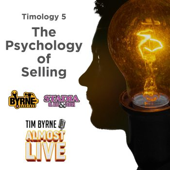 "Selling is hard. It's exhausting physically. It's exhausting mentally. It's not for the faint of heart. Tim tries to drive that message home this week when he is once again joined by his sales guys Dylan and Andy. It's all about the psychology of selling and why the hardest part of the job is dealing with what's going on in your own head. The episode starts with a conversation about embarrassing yourself on the job. You have to be prepared to do it. Tim shares just such a story. Earlier this year he met with the head of one of Stadia's biggest clients. The guy is a major power player in Ontario construction. He's way too busy to be taking meetings with Tim. Yet Tim, somehow, managed to get just such a meeting. It was a hot day. Really hot. And Tim decided to where one of his nicest shirts. It was a purple shirt. Arriving early Tim sat on the patio directly facing the scorching summer sun. By the time the bigshot arrived Tim's purple shirt was soaking wet. The pit stains stretched down to belt. The big shot was clearly weirded out and he hasn't taken Tim's call since. The point of that horror story is that you have to be prepared to look stupid. ""If you're not putting yourself outside of your comfort zone every day you're not going to make it,"" Tim says. It's going to take a while to get comfortable with yourself in the job."