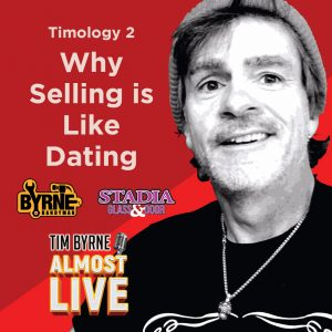 """In the first episode in this series Tim outlined the mathematical formula every great salesman needs to follow. Marketing + relationships + accounting = a sale. Today he reveals the secret to building relationships. It's a lot like dating. Would you walk up to someone in the bar and say """"Hi! I'm really good looking and I'm great in bed.""""? It wouldn't work. It's the same in sales. You need to form actual relationships with actual people before you can expect to sell anything. Building a relationship starts by getting people to remember your name. Then it's learning the other person's name and using it at least three times in a conversation. You're trying to build intimacy and that can't happen if you don't know the other person's name. Tim uses all sorts of tricks to get people on the phone. That isn't easy these days. Try and avoid voicemail at all costs. But if you have to leave a message make sure your name and number are at the front of the message. Do anything you can think of to get a callback. Tim will record happy birthday on a voicemail whether it's the person's birthday or not. Long before you ever seal a deal you need to know your client. It's the same as dating. Most people don't hop into bed on the first date. And if they do it tends to be a little weird. You have to build an actual relationship before you get lucky! At minimum you're going to need at least four interactions with your client (lunch, phone calls, a meeting on-site) before you sign any contracts."""