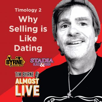 "In the first episode in this series Tim outlined the mathematical formula every great salesman needs to follow. Marketing + relationships + accounting = a sale. Today he reveals the secret to building relationships. It's a lot like dating. Would you walk up to someone in the bar and say ""Hi! I'm really good looking and I'm great in bed.""? It wouldn't work. It's the same in sales. You need to form actual relationships with actual people before you can expect to sell anything. Building a relationship starts by getting people to remember your name. Then it's learning the other person's name and using it at least three times in a conversation. You're trying to build intimacy and that can't happen if you don't know the other person's name. Tim uses all sorts of tricks to get people on the phone. That isn't easy these days. Try and avoid voicemail at all costs. But if you have to leave a message make sure your name and number are at the front of the message. Do anything you can think of to get a callback. Tim will record happy birthday on a voicemail whether it's the person's birthday or not. Long before you ever seal a deal you need to know your client. It's the same as dating. Most people don't hop into bed on the first date. And if they do it tends to be a little weird. You have to build an actual relationship before you get lucky! At minimum you're going to need at least four interactions with your client (lunch, phone calls, a meeting on-site) before you sign any contracts."