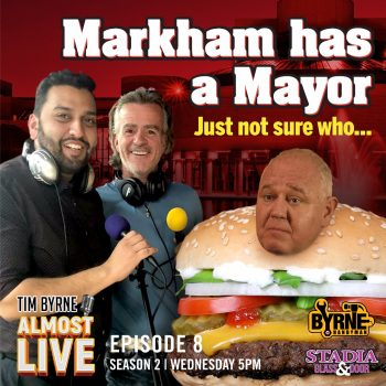 S02E08 – Markham has a mayor (just not sure who)