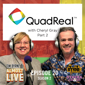 Cheryl Gray is a titan in the Toronto real estate industry. In the second part of our conversation we discuss the looming recession and about how to build real relationships in a digitized age. I was also extremely eager to talk with Cheryl about how young companies can get a foothold in the industry. Cheryl is untouchable to the average trade or vendor. She explained how an up-and-coming company can get the attention of a big player like Quadreal. This is must have information for start-up companies!