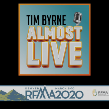 Tim Byrne Almost Live @ RFMA 2020 w/ Board of Directors: Greg Clark